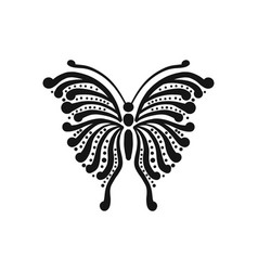 Ornate butterfly for your design vector