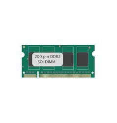 Ram 200 ddr vector