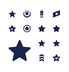 Rating icons vector