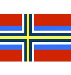 Scandinavia vector image
