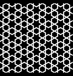 Seamless simple geometric pattern with vector