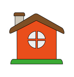Small house icon image vector