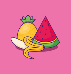 watermelon icon image vector image