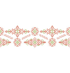 african ethnic style stripe ornament vector image