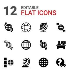 around icons vector image