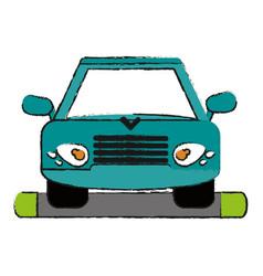 Car draw vector