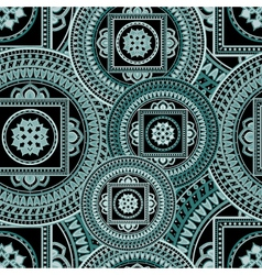 Indian mandala pattern vector