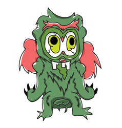 monster character 03 vector image