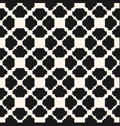 Ornamental seamless pattern geometric texture vector
