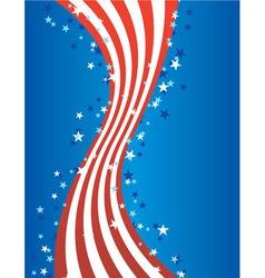patriotic american july vector vector image