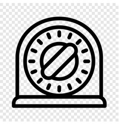 target stand icon cartoon style vector image