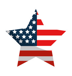 United states star design vector