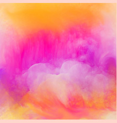vibrant bright watercolor texture background vector image