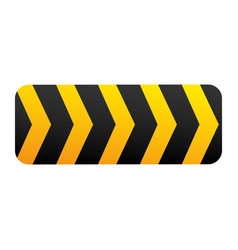 caution ribbon sign icon vector image