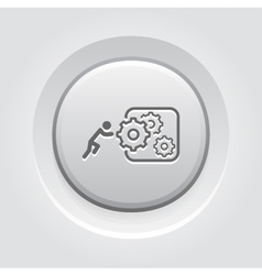Integration of innovation icon vector