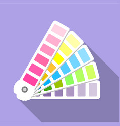 cmyk picker icon flat style vector image