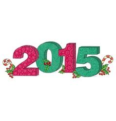 2015 year vector