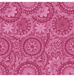 Floral lace seamless pattern vector