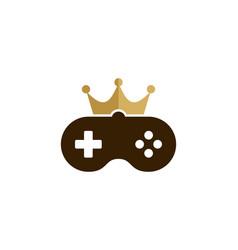 game king logo icon design vector image