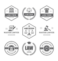 Law labels set vector