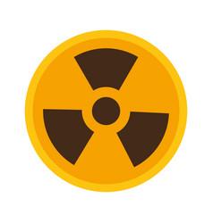 radiation symbol science vector image