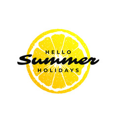 typography summer holidays t-shirt design vector image