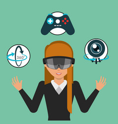 Virtual reality related vector