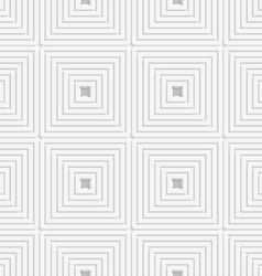 White offset squares tile ornament vector