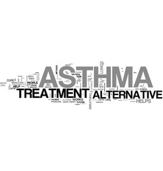 alternative approaches to pain relief text word vector image vector image