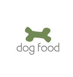 dog food vector image