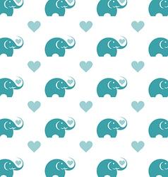 Elephant wallpaper vector image