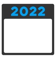 2022 Calendar Icon vector image
