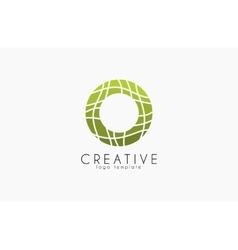 Creative logo Green logo geometric icon vector