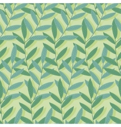 Green tropical seamless pattern Background of vector image vector image