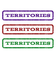 Territories watermark stamp vector