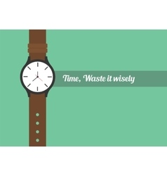 time quotes vector image