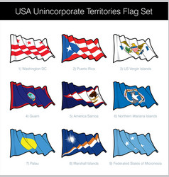 Usa - free associated states and unincorporated vector