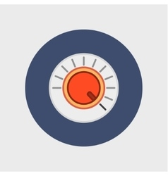 Volume button icon vector