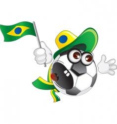 brazilian vector image vector image