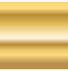 Gold texture pattern horizontal vector image vector image