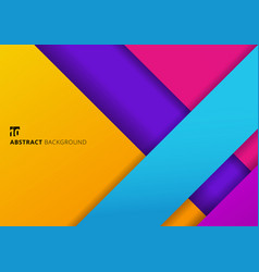 Abstract background geometric stripes colorful vector