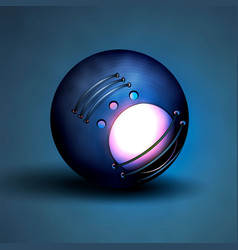 abstract ball technology vector image