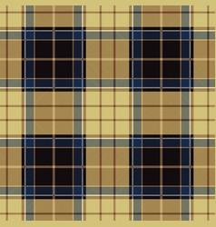 Beige tartan plaid seamless pattern vector