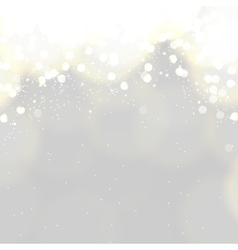Bokeh romantic background vector image