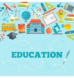 Education Flat Design vector