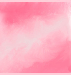 elegant pink watercolor texture background vector image