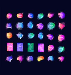 gradient color background colored fluid splash or vector image