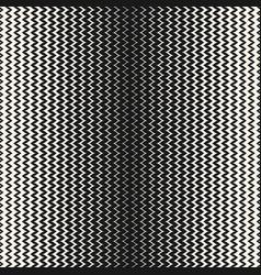 Halftone seamless pattern vertical zig zag lines vector