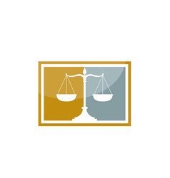 law firm logo law firm logo vector image