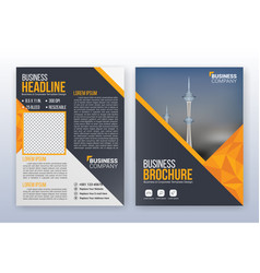 multipurpose modern business cover and flyer vector image